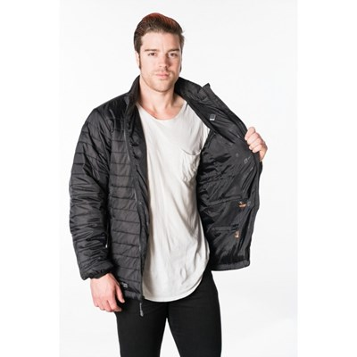 Men's Heated Insulated Jacket - New Heating Technology