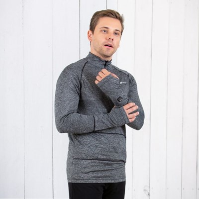 Men ZipT Battery Heated Baselayer Top
