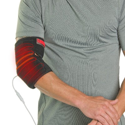 At-Home Elbow Heat Therapy Wrap