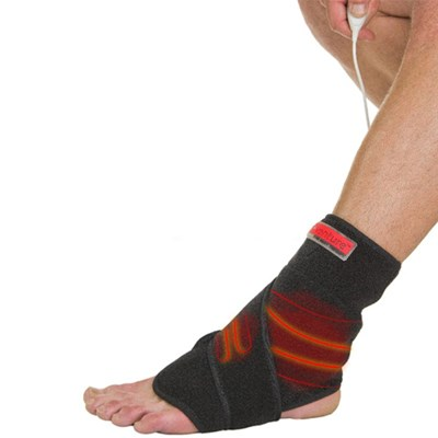 At-Home Ankle Heat Therapy Wrap