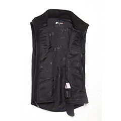 Motorcycle heated vest liner